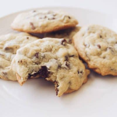 Chocolate Chip Low Carb Cookies