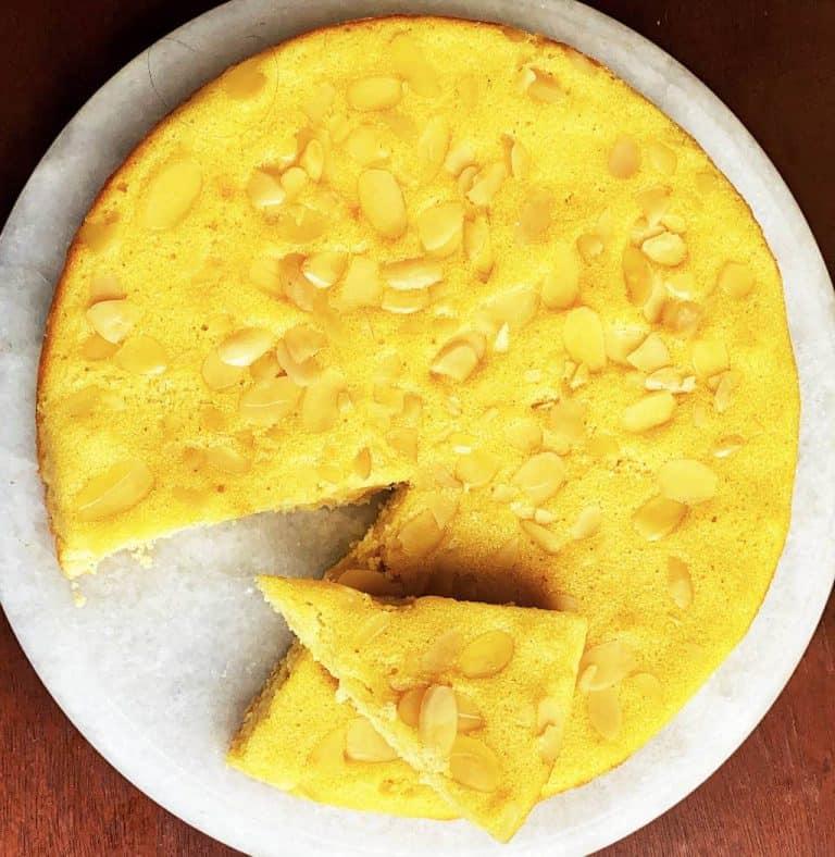Verführerischer Vanille Mandel Glutenfreier Kuchen Rezept