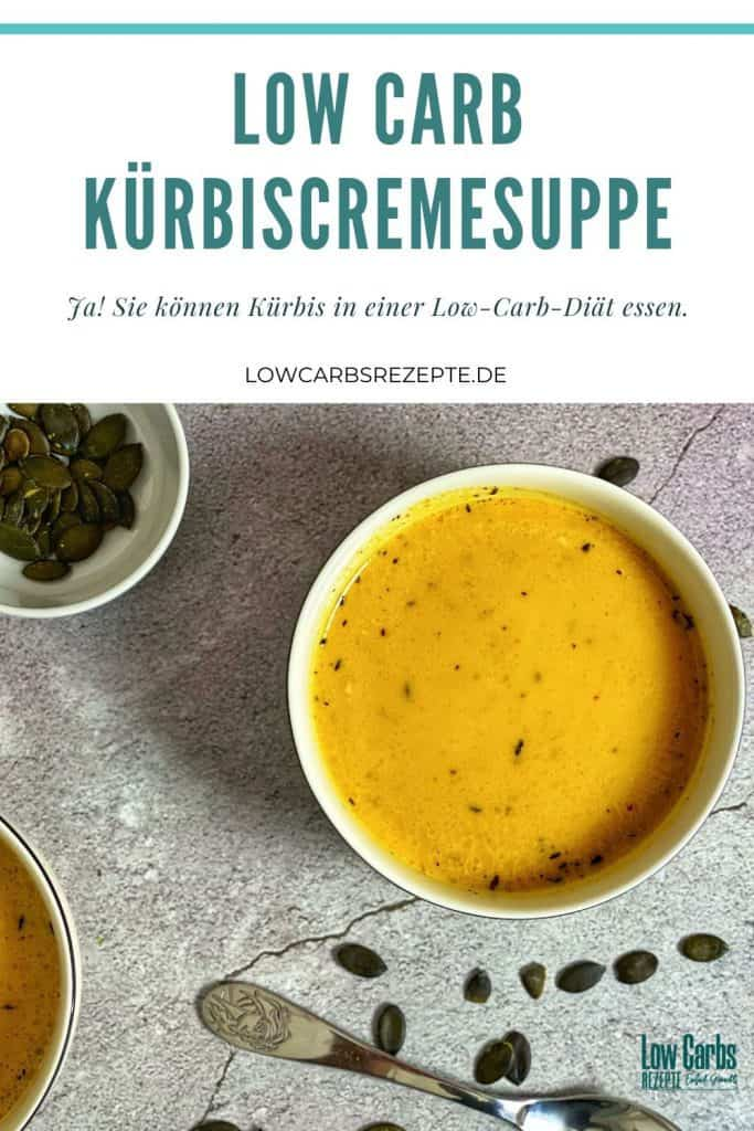 Low Carb Kürbiscremesuppe