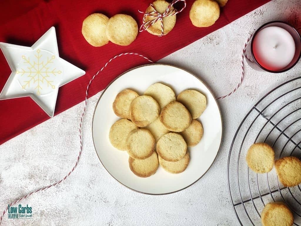 Zuckerfreie Butterplätzchen Rezept - Schnelle Weihnachtsplätzchen